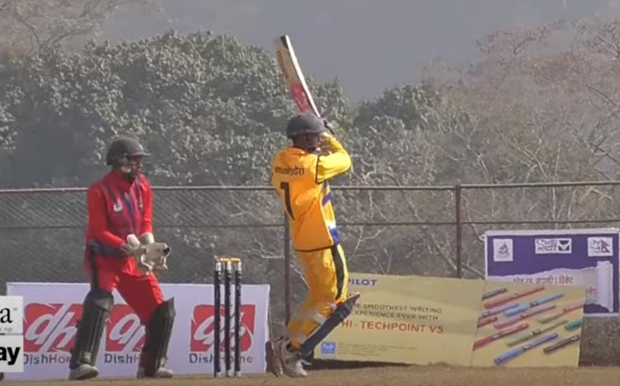 Arjun Kumal Batting
